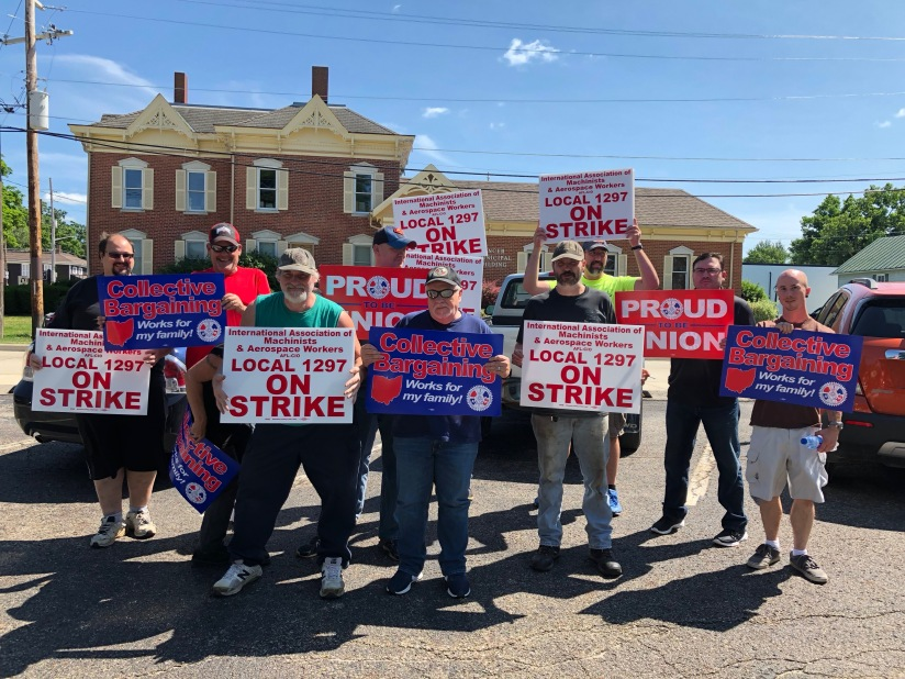 Labor News: Machinists Strike at Spencer Forge & Manufacturing