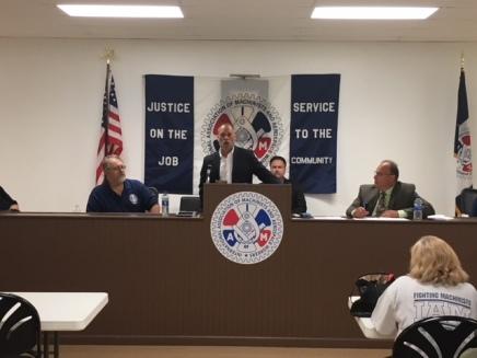 Ohio AFL-CIO President Tim Burga.