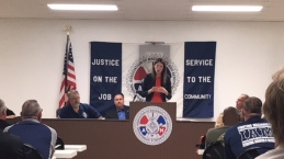 Kathleen Clyde, candidate for Ohio Secretary of State.