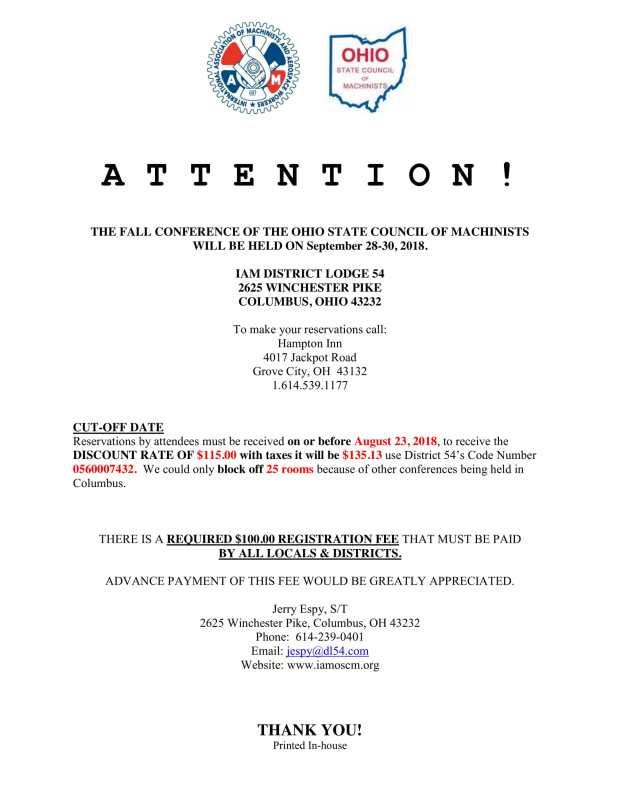 OSCM Fall Meeting Notice 2018-1