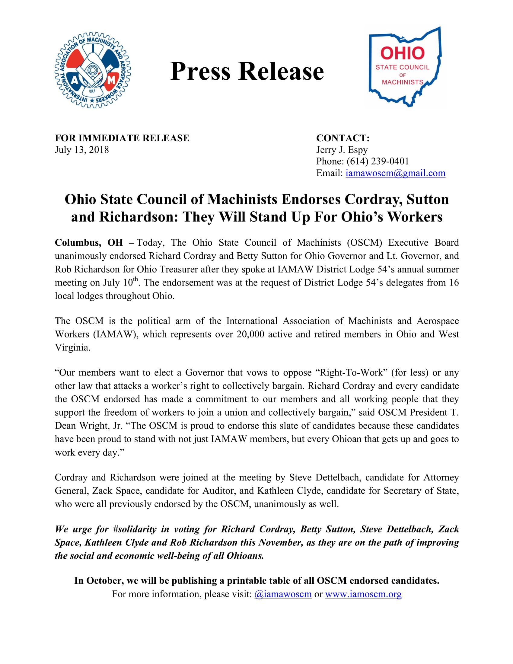 Press Release_OSCM Endorsements 071318-1.jpg
